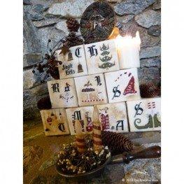 Схема Christmas Cubes The Primitive Hare