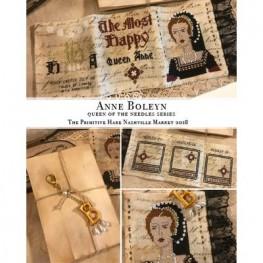 Схема Anne Boleyn Queen of the Needles The Primitive Hare