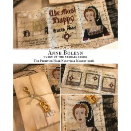 Схема Anne Boleyn Queen of the Needles The Primitive Hare