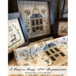 Схема A Sampler Study: 1802 Sampler Reproduction The Primitive Hare