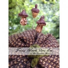 Булавки Fairy Wood Pins Set The Primitive Hare