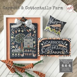 Схема Carrots & Cottontails Farm Hands on Design