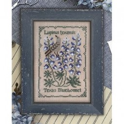Схема Texas Bluebonnet The Drawn Thread
