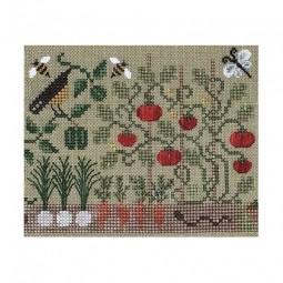 Схема The Kitchen Garden The Drawn Thread