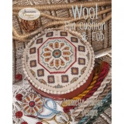 Схема Wool Pincushion & Fob Jeannette Douglas