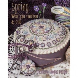 Схема Spring Wool Pincushion Jeannette Douglas