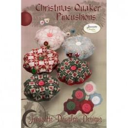 Схема Christmas Quaker Pincushions Jeannette Douglas