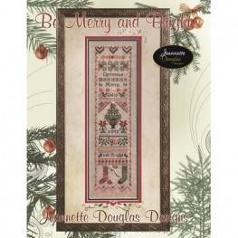 Схема Be Merry and Bright Jeannette Douglas