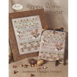 Схема Happy Acorn Harvest Jeannette Douglas