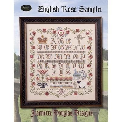 Схема English Rose Sampler Jeannette Douglas