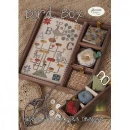 Схема Bird Box - Shadow Box Set Jeannette Douglas