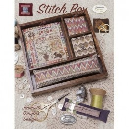 Схема Love to Stitch - Stitch Box Jeannette Douglas