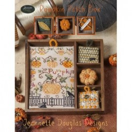 Схема Pumpkin Patch Box - Shadow Box Set Jeannette Douglas