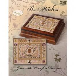 Схема Bee Stitches - Stitches Series Jeannette Douglas