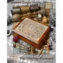 Схема My Stitching Treasures Jeannette Douglas