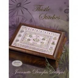 Схема Thistle Stitches - Stitches Series Jeannette Douglas