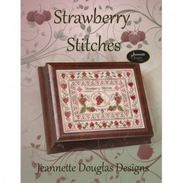 Схема Strawberry Stitches - Stitches Series Jeannette Douglas
