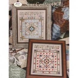 Схема Star Center Quilt Jeannette Douglas