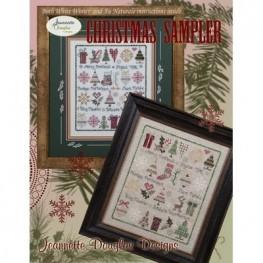 Схема Christmas Sampler Jeannette Douglas