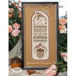 Схема Roses & Acorns Sampler Jeannette Douglas