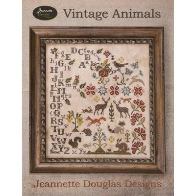 Схема Vintage Animals Jeannette Douglas