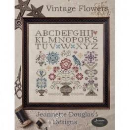 Схема Vintage Flowers Jeannette Douglas