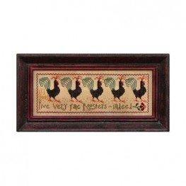 Схема Five Fine Roosters La-D-Da