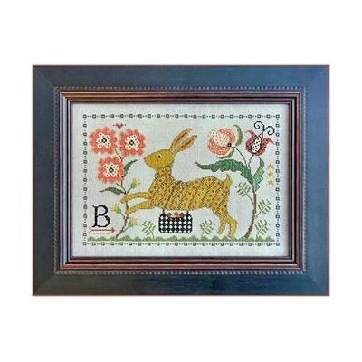 Схема B is for Bunny La-D-Da