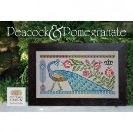 Схема Peacock & Pomegranate Cottage Garden Samplings