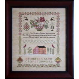 Схема Peace On Earth Sampler Cottage Garden Samplings