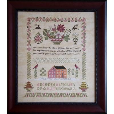 Схема Peace On Earth Sampler Cottage Garden Samplings