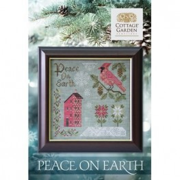 Схема Peace On Earth Cottage Garden Samplings