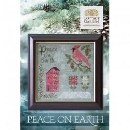 Схема Peace On Earth Cottage Garden Samplings