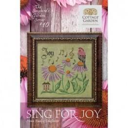 Схема Sing For Joy 10 Cottage Garden Samplings