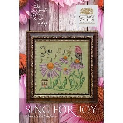 Схема Sing For Joy #10 Cottage Garden Samplings