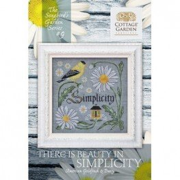 Схема There Is Beauty in Simplicity 9 Cottage Garden Samplings
