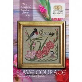 Схема Have Courage #8 Cottage Garden Samplings