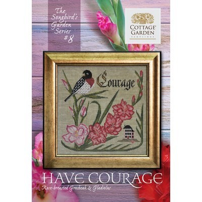 Схема Have Courage #8 Cottage Garden Samplings