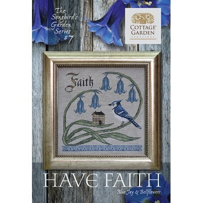 Схема Have Faith #7 Cottage Garden Samplings