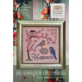 Схема Bluebird of Happiness #5 Cottage Garden Samplings