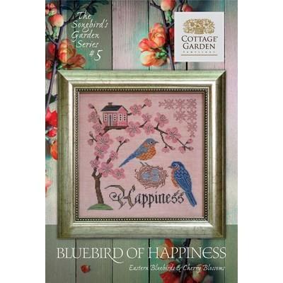 Схема Bluebird of Happiness #5 Cottage Garden Samplings