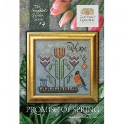 Схема Promise of Spring #4 Cottage Garden Samplings