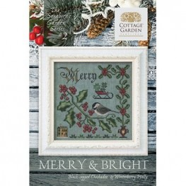 Схема Merry & Bright #2 Cottage Garden Samplings