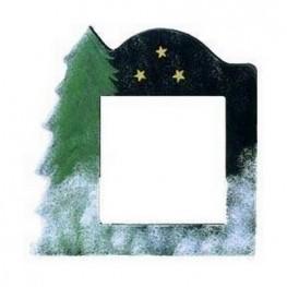 Рамка дерев'яна Matte Black with Tree GBFRT Mill Hill