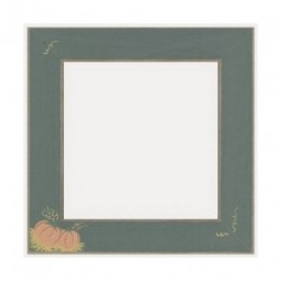 Рамка деревянная Matte Green w/Pumpkins GBFRFA5 Mill Hill