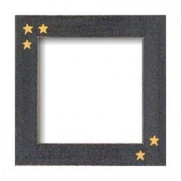 Рамка деревянная Matte Black w/Primitive Stars GBFRFA6 Mill Hill