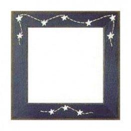 Рамка дерев'яна Matte Blue w/Stars & Stitches GBFRFA7 Mill Hill