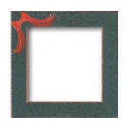 Рамка деревянная Matte Green w/Red Bow GBFRFA8 Mill Hill