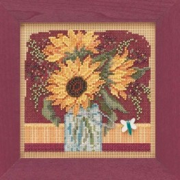 Набор Sunflower Bouquet Mill Hill MH14-1924