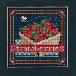 Набор Strawberries Mill Hill MH14-1613